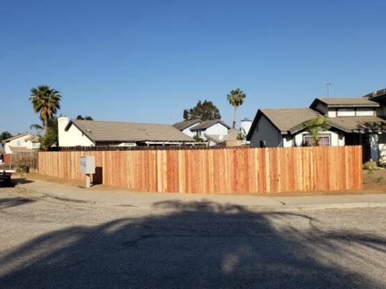 wood fence installation San Mateo ca