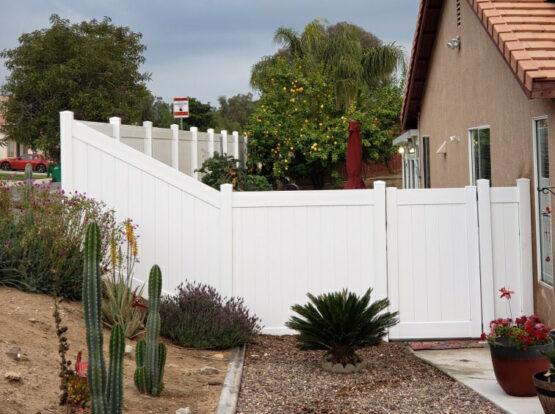 vinyl fence installation San Mateo ca